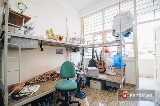 Khám phá ký túc xá của ngôi trường có kiến trúc đẹp nhất nhì Việt Nam, nơi sinh viên ăn-ngủ-sinh hoạt cùng bảng màu, giá vẽ - Ảnh 12.