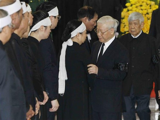 Lễ viếng Chủ tịch nước Trần Đại Quang - Ảnh 1.