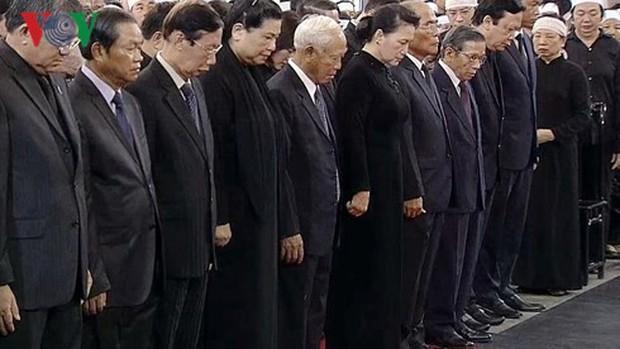 Lễ viếng Chủ tịch nước Trần Đại Quang - Ảnh 15.