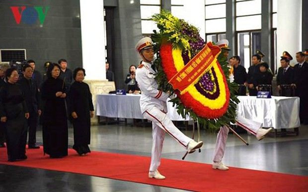 Lễ viếng Chủ tịch nước Trần Đại Quang - Ảnh 18.