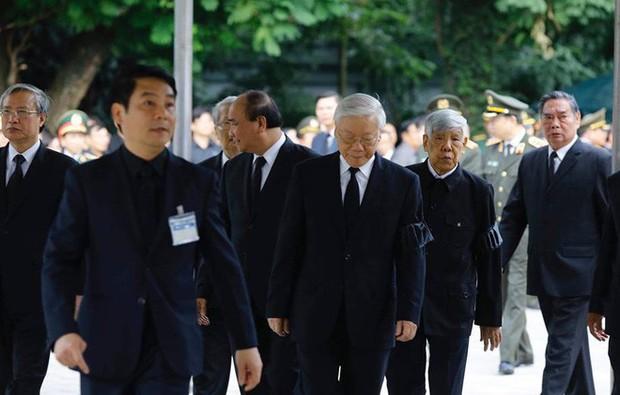 Lễ viếng Chủ tịch nước Trần Đại Quang - Ảnh 5.