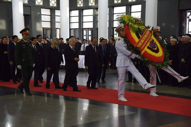 Lễ viếng Chủ tịch nước Trần Đại Quang - Ảnh 8.