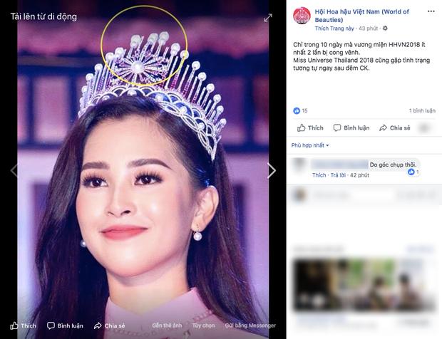 Xuất hiện với diện mạo xinh đẹp, Tân Hoa hậu Tiểu Vy vẫn bị soi đội vương miện cong vênh - Ảnh 1.
