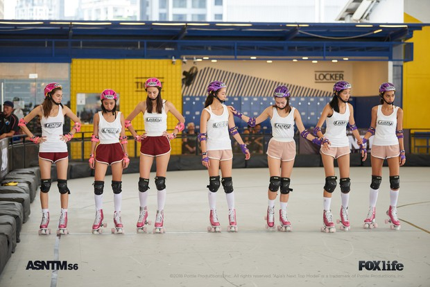 Next Top châu Á đã cắt bỏ cảnh thí sinh bị ngã đến bật khóc trên sàn patin - Ảnh 1.