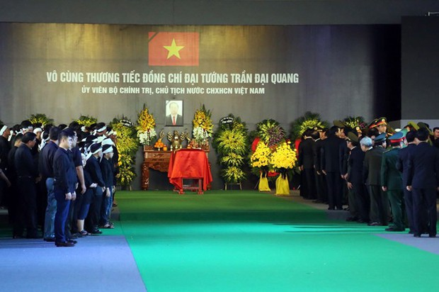 Chủ tịch nước Trần Đại Quang trở về đất mẹ - Ảnh 43.