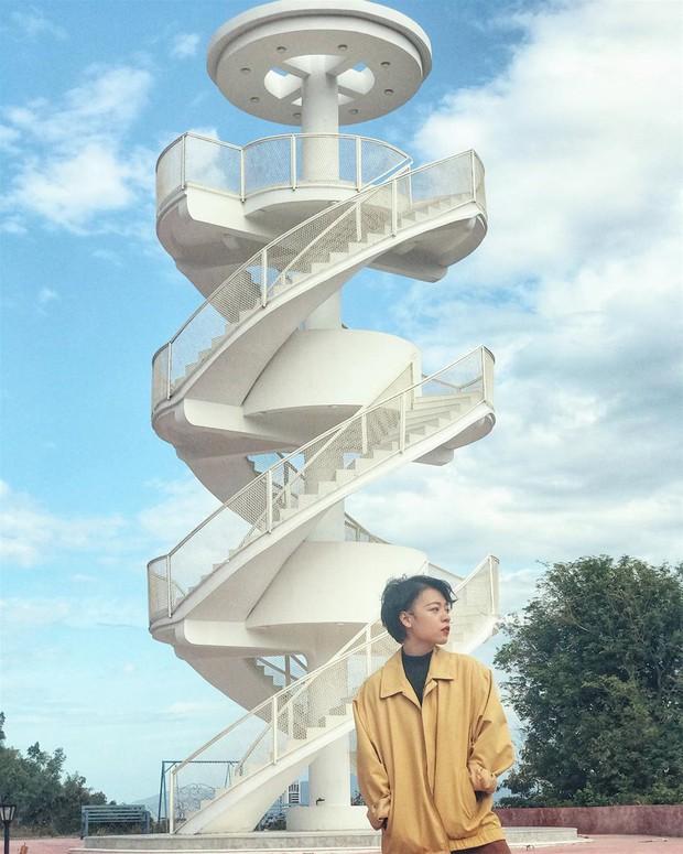 Nấc thang lên thiên đường: Địa điểm check-in mới toanh cực ảo diệu nằm ngay tại Nha Trang - Ảnh 2.