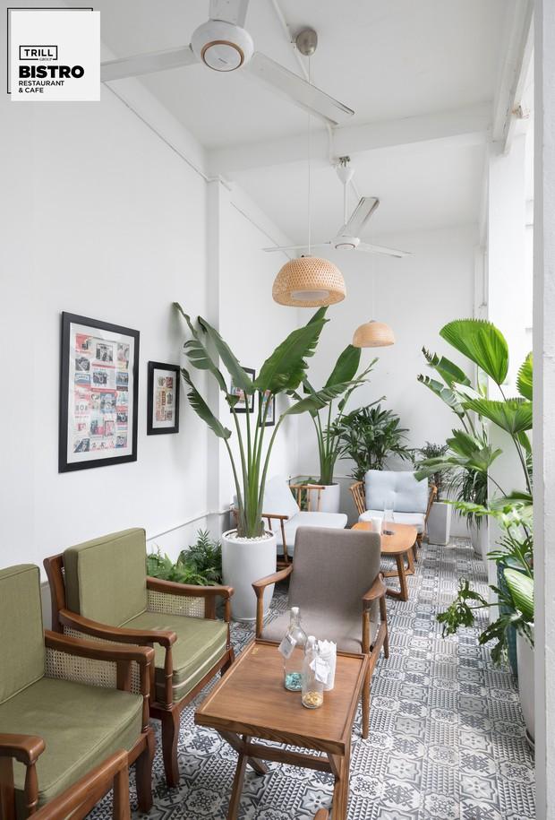 Hà Nội: 3 quán cà phê xanh mướt, mát rượi cực hợp để đi vào những ngày đầu thu - Ảnh 5.