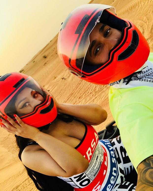 Bạn trai mới của Nicki Minaj chính là tay đua xe F1 hàng đầu thế giới này? - Ảnh 1.