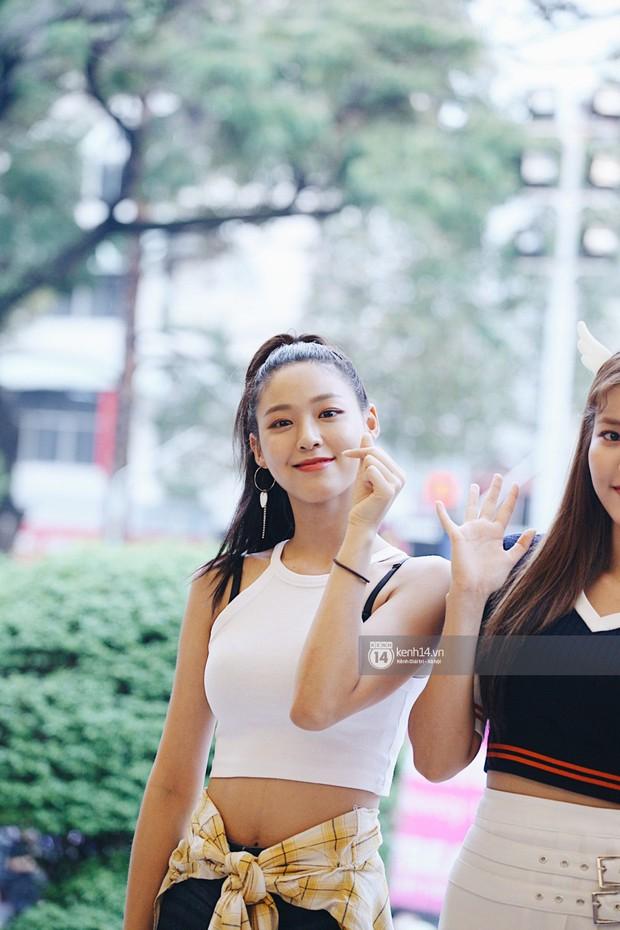 Báu vật quốc dân Seolhyun quyến rũ khó cưỡng, Hyomin rạng rỡ bên dàn chân dài AOA tại fansign ở Việt Nam - Ảnh 3.