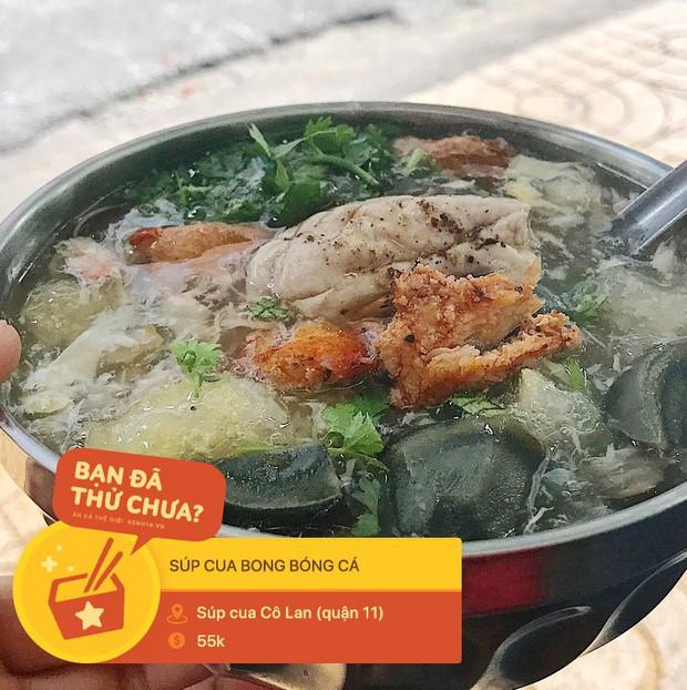 Súp cua Sài Gòn đâu chỉ có mỗi cua, ra đây mà xem người ta còn kết hợp cùng hằng hà sa số các topping đặc sắc này - Ảnh 10.
