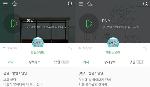 DNA (BTS) vượt qua một đối thủ nặng kí để đoàn tụ với người anh em của mình trên nóc nhà Melon - Ảnh 1.