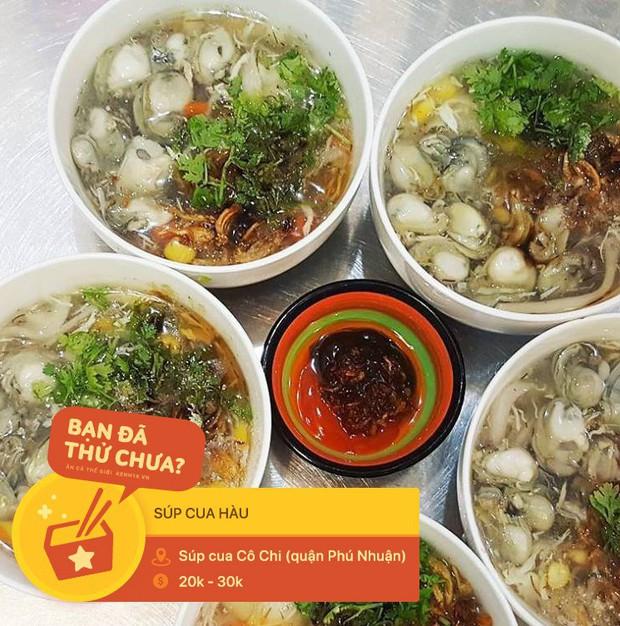Súp cua Sài Gòn đâu chỉ có mỗi cua, ra đây mà xem người ta còn kết hợp cùng hằng hà sa số các topping đặc sắc này - Ảnh 2.