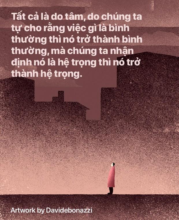Trên đời này không có gì không buông bỏ được, khi đau đớn đủ rồi thì tự sẽ bỏ xuống mà thôi - Ảnh 2.