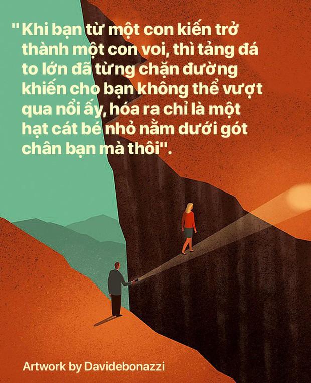 Trên đời này không có gì không buông bỏ được, khi đau đớn đủ rồi thì tự sẽ bỏ xuống mà thôi - Ảnh 5.