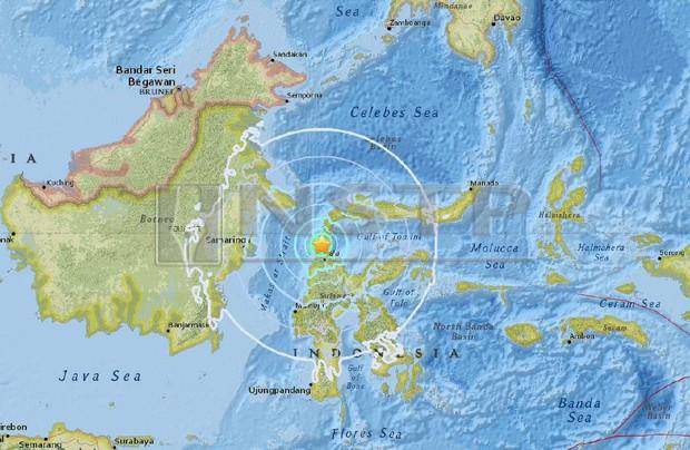 Động đất mạnh 6,1 độ Richter làm rung chuyển miền Trung Indonesia - Ảnh 1.