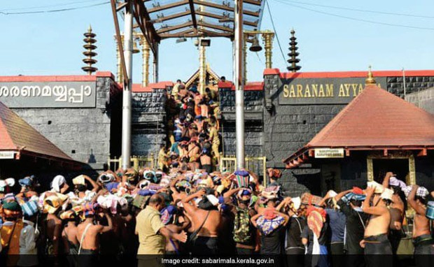 Tòa án Tối cao Ấn Độ hủy bỏ lệnh cấm phụ nữ tới đền thờ Ayyappa - Ảnh 1.