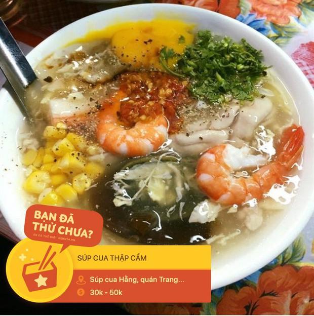 Súp cua Sài Gòn đâu chỉ có mỗi cua, ra đây mà xem người ta còn kết hợp cùng hằng hà sa số các topping đặc sắc này - Ảnh 8.