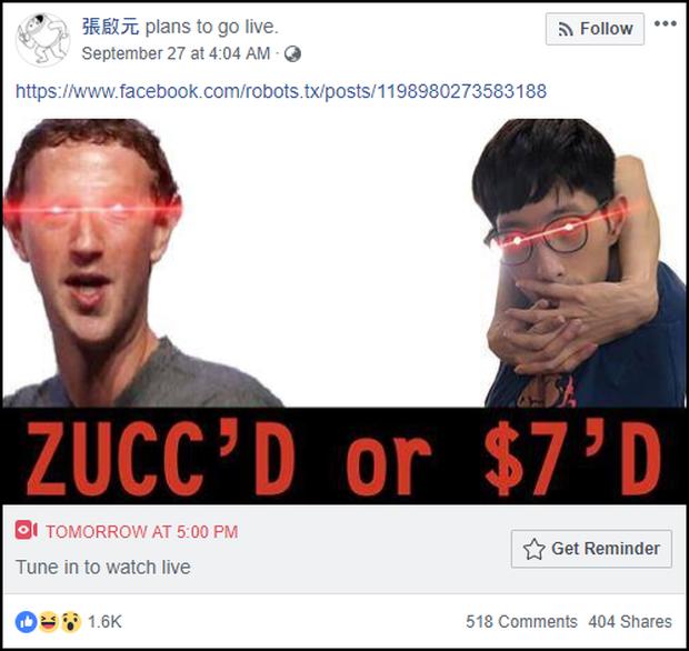 Hacker lên kèo xóa Facebook của Mark Zuckerberg bỗng hủy show, quyết định tự báo lỗi để nhận thưởng - Ảnh 2.