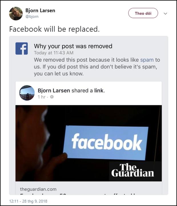 Facebook bị nghi cố tình chơi bẩn bằng cách block dân mạng, không cho share tin mình bị hack - Ảnh 2.