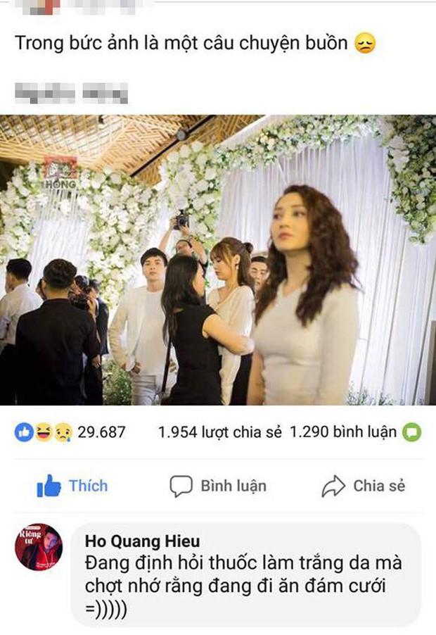 Hồ Quang Hiếu tiết lộ sự thật phía sau cái nhìn lén Bảo Anh trong đám cưới Trường Giang? - Ảnh 1.