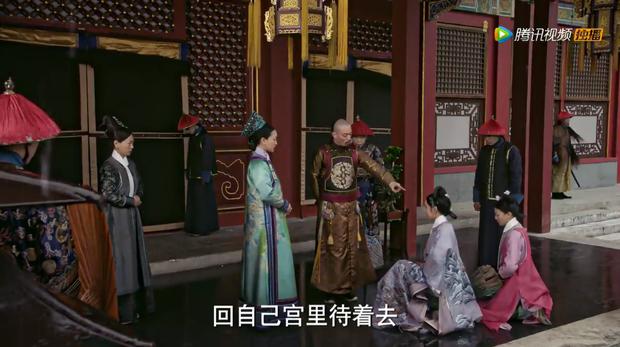Dĩnh Phi thẳng thắn can gián Càn Long, cả hậu cung quỳ dưới mưa đồng loạt phản đối nạp Hàn Hương vào hậu cung - Ảnh 7.