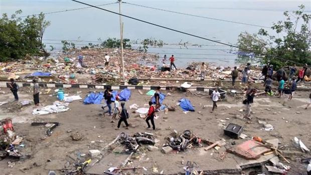 Động đất Indonesia: 30 người chết, hàng nghìn người không nơi trú ẩn - Ảnh 1.