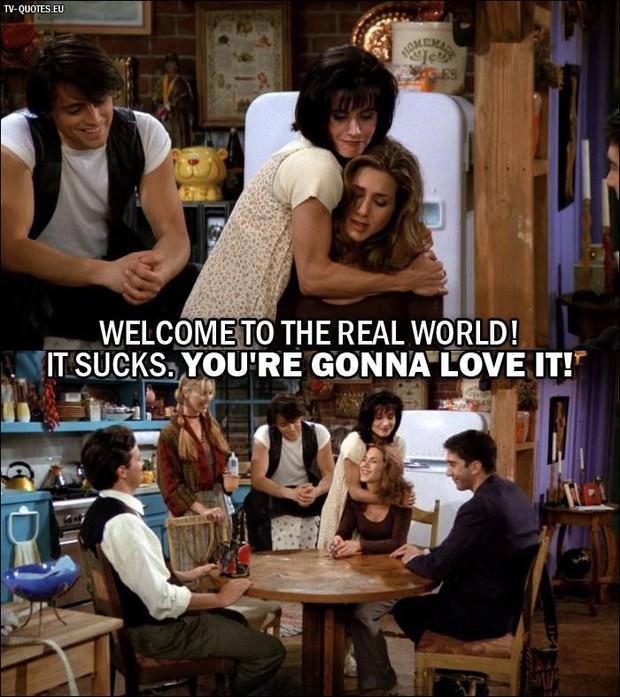 Bồi hồi nhớ lại 10 câu thoại kinh điển nhất từ loạt phim truyền hình Friends - Ảnh 2.