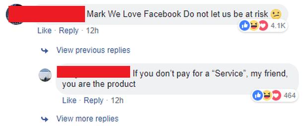 Đáng buồn thay, bình luận tục tĩu của 1 bạn trẻ Việt lại được lên top trang cá nhân của Mark Zuckerberg - Ảnh 4.