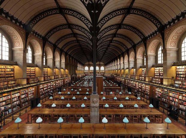 Nhiếp ảnh gia người Ý thực hiện cuộc hành trình đi tìm thư viện đẹp nhất thế giới, và đây là những gì anh ấy ghi lại được - Ảnh 6.