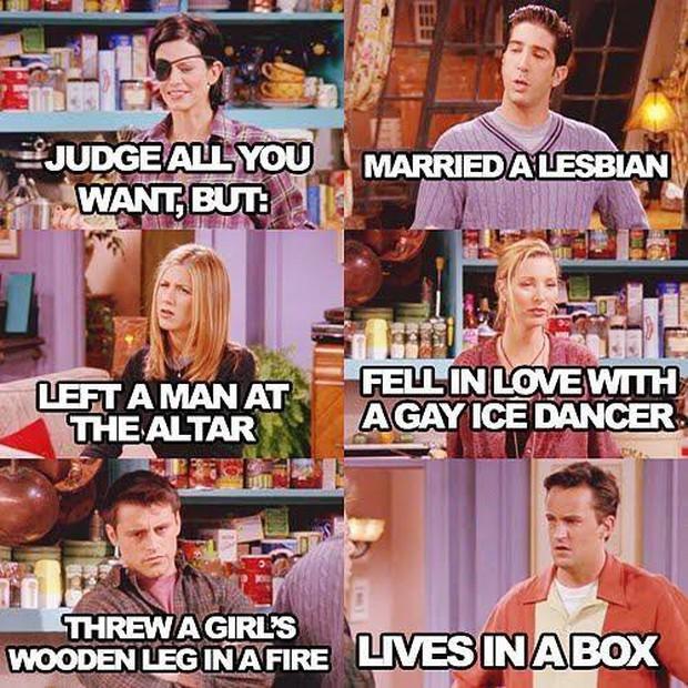 Bồi hồi nhớ lại 10 câu thoại kinh điển nhất từ loạt phim truyền hình Friends - Ảnh 16.