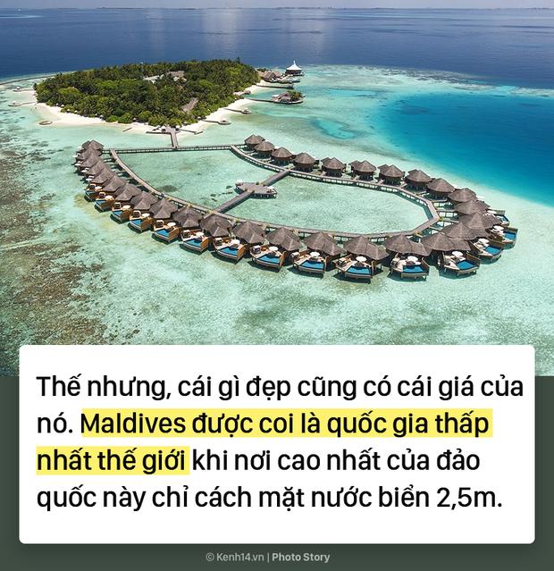 Thiên đường Maldives đối mặt với nguy cơ biến mất khỏi bản đồ thế giới - Ảnh 3.