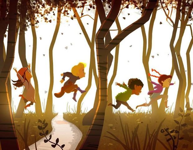 Bộ tranh trong trẻo định nghĩa về tuổi thơ khiến ai cũng muốn bé lại thêm lần nữa - Ảnh 9.
