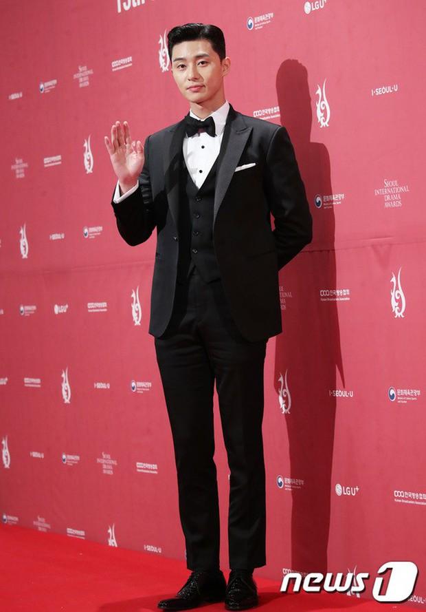 Thảm đỏ Seoul Drama Awards: Park Seo Joon xuất sắc nhưng thiếu Park Min Young, Sooyoung đọ sắc chị đại Lee Bo Young - Ảnh 3.