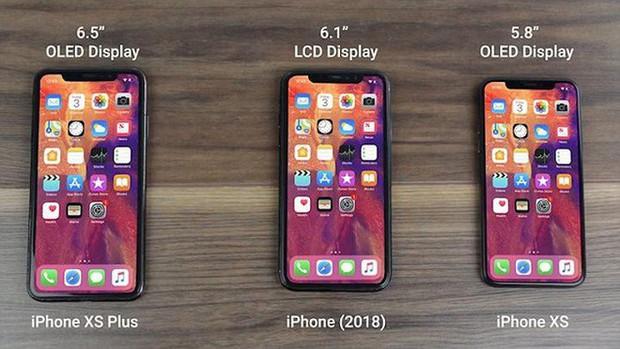 """Ảnh dựng bộ ba iPhone 2018 cho thấy thế hệ iPhone XS chỉ là """"bình cũ rượu mới"""" - Ảnh 1."""
