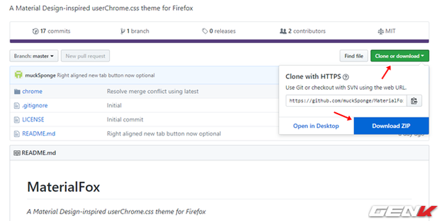 Mang giao diện Material cực đẹp của Google Chrome lên ...Firefox - Ảnh 1.