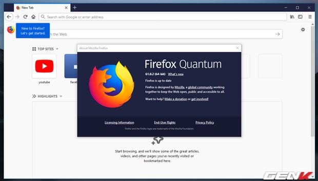 Mang giao diện Material cực đẹp của Google Chrome lên ...Firefox - Ảnh 2.