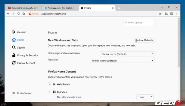 Mang giao diện Material cực đẹp của Google Chrome lên ...Firefox - Ảnh 13.