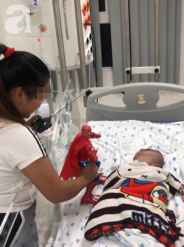 Mẹ trẻ An Giang khóc ngất khi mới sinh chưa lâu thì con trai lây bệnh lao cực nặng từ cha, tưởng không còn cơ hội cứu - Ảnh 3.