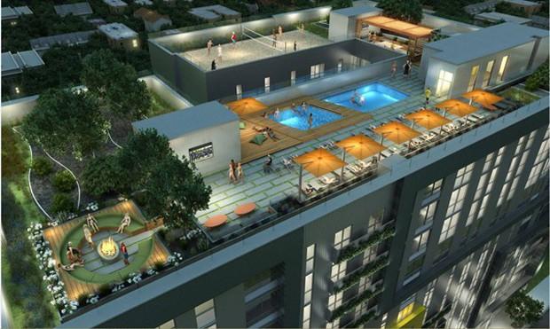 Ký túc xá nước nhà người ta: Xịn như khách sạn 5 sao, có đầy đủ sân thượng, bể bơi, giá thuê lên đến 17 triệu/tháng - Ảnh 10.