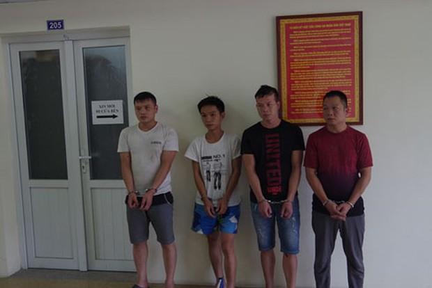 Lật tẩy ổ nhóm trộm cắp người Trung Quốc cạy phá két sắt DN quanh đường quốc lộ - Ảnh 1.