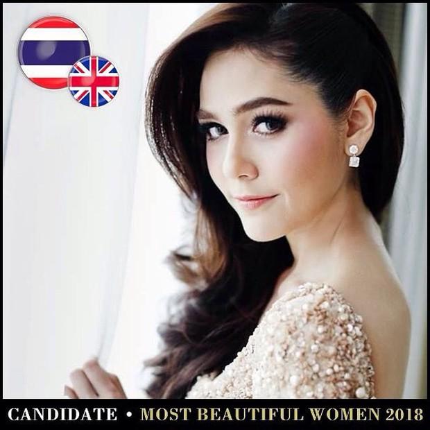 Top mỹ nhân Thái được đề cử Top 100 gương mặt đẹp nhất thế giới 2018: Thành viên Black Pink cũng có mặt - Ảnh 1.