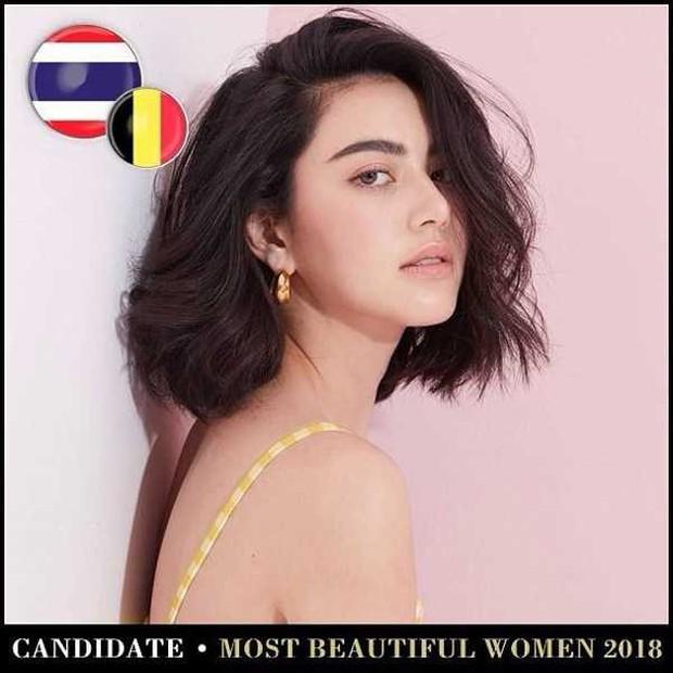Top mỹ nhân Thái được đề cử Top 100 gương mặt đẹp nhất thế giới 2018: Thành viên Black Pink cũng có mặt - Ảnh 2.
