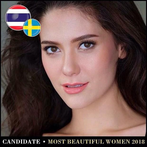 Top mỹ nhân Thái được đề cử Top 100 gương mặt đẹp nhất thế giới 2018: Thành viên Black Pink cũng có mặt - Ảnh 16.