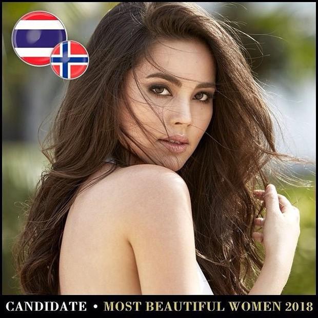 Top mỹ nhân Thái được đề cử Top 100 gương mặt đẹp nhất thế giới 2018: Thành viên Black Pink cũng có mặt - Ảnh 4.