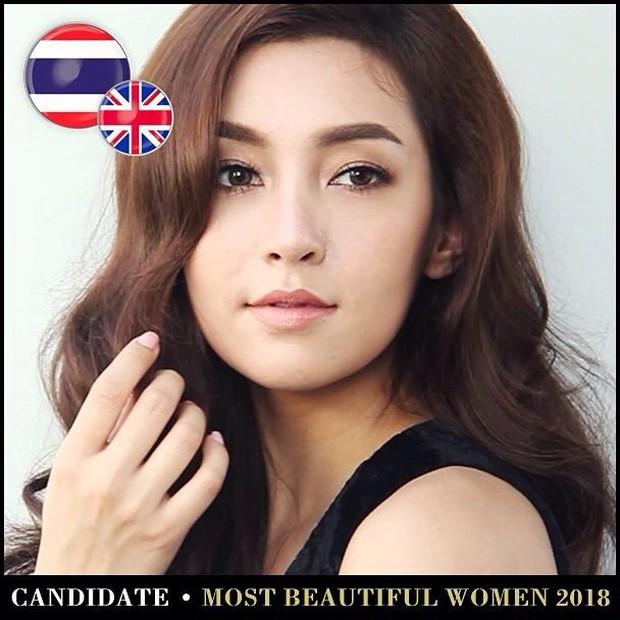 Top mỹ nhân Thái được đề cử Top 100 gương mặt đẹp nhất thế giới 2018: Thành viên Black Pink cũng có mặt - Ảnh 6.