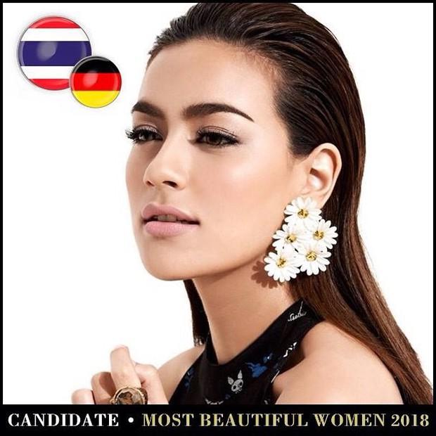Top mỹ nhân Thái được đề cử Top 100 gương mặt đẹp nhất thế giới 2018: Thành viên Black Pink cũng có mặt - Ảnh 7.