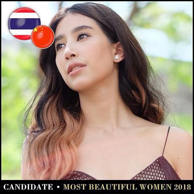 Top mỹ nhân Thái được đề cử Top 100 gương mặt đẹp nhất thế giới 2018: Thành viên Black Pink cũng có mặt - Ảnh 8.