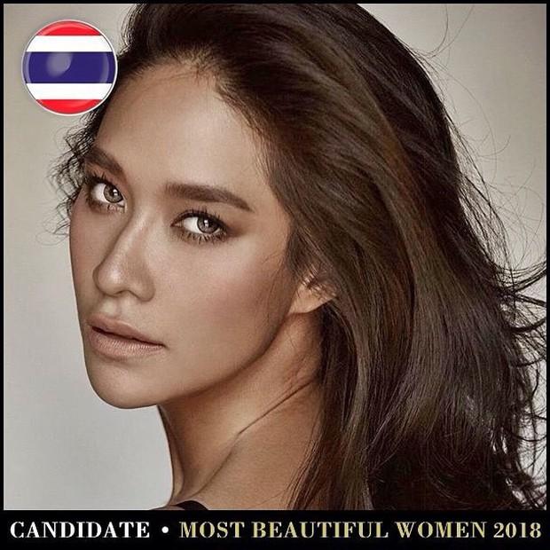 Top mỹ nhân Thái được đề cử Top 100 gương mặt đẹp nhất thế giới 2018: Thành viên Black Pink cũng có mặt - Ảnh 10.