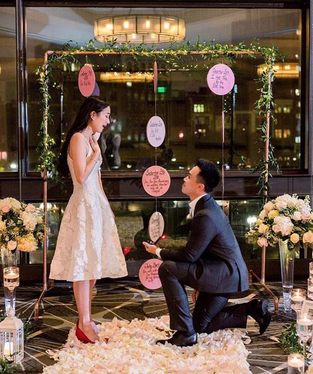 Mie Nguyễn được bạn trai yêu 3 năm cầu hôn siêu lãng mạn: Em sẽ là của tôi mãi mãi chứ? - Ảnh 1.