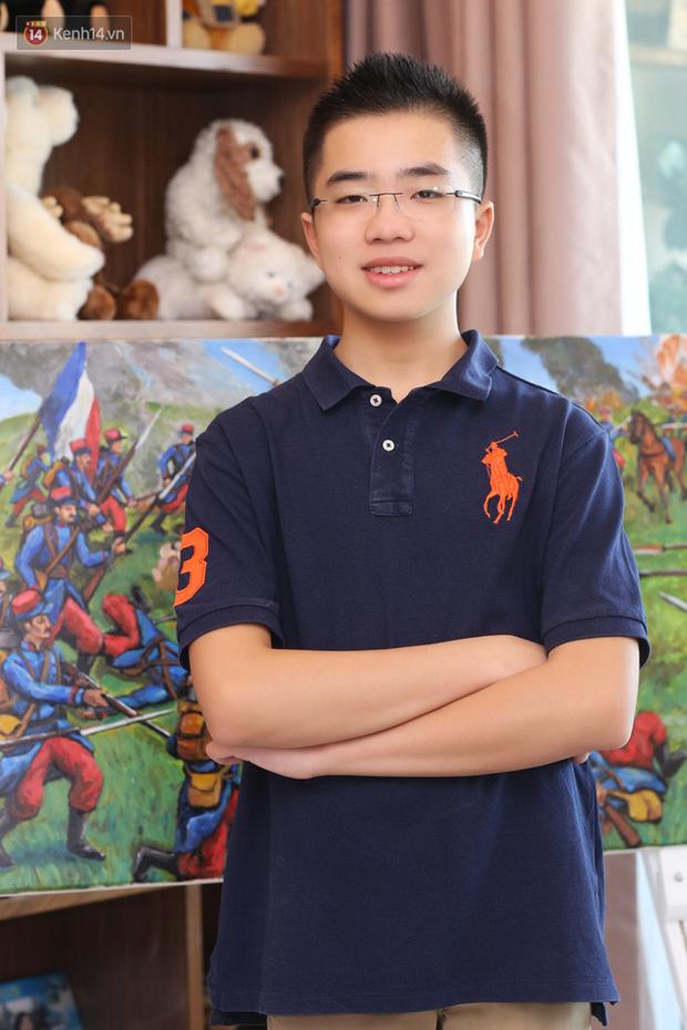 Gặp gỡ cậu bé 13 tuổi đạt TOEFL 109/120, thực hiện dự án Lịch sử tái hiện 10 trận đánh nổi tiếng thế giới - Ảnh 4.